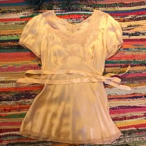 Tops - Vintage 1940s silk blouse